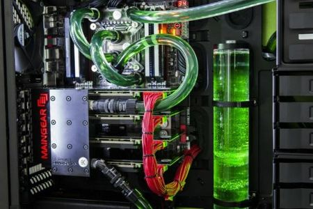 refrigeración líquida custom