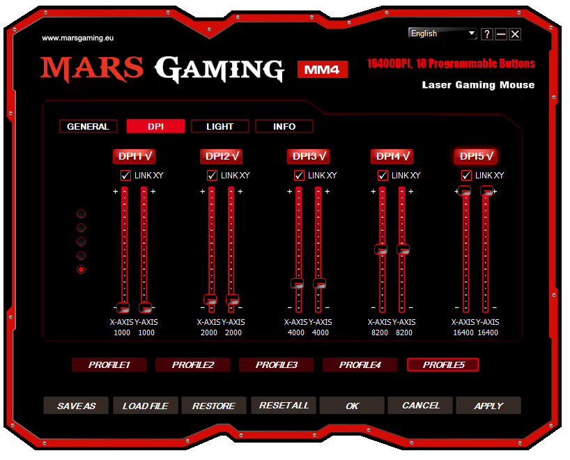 Mars Gaming MM4 analisis software