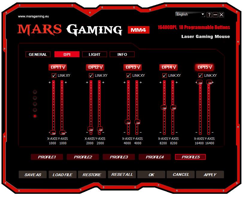 Mars Gaming MM4 analisis software