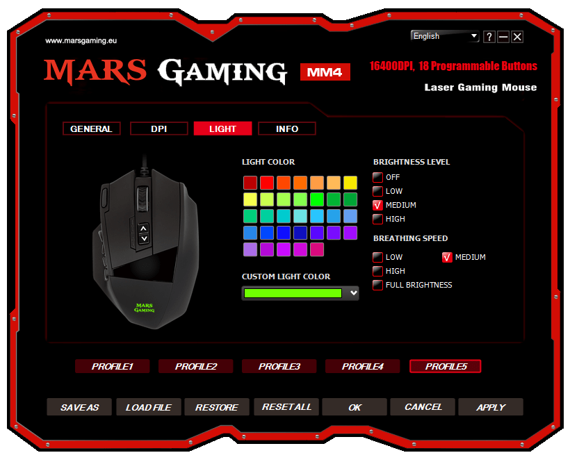 analisis Mars Gaming MM4 review software
