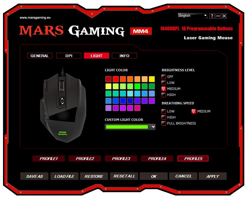 analisis Mars Gaming MM4 review software