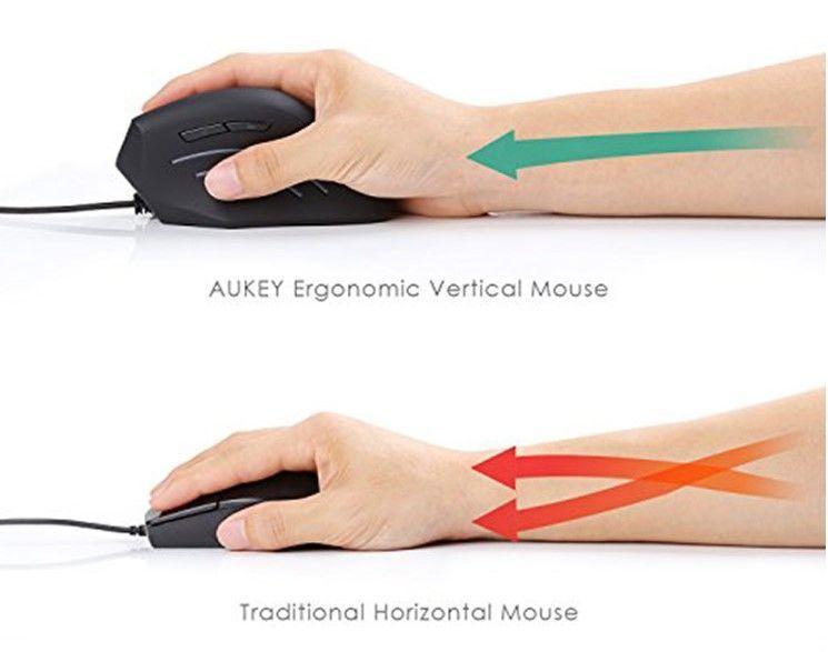 posición ratón aukey