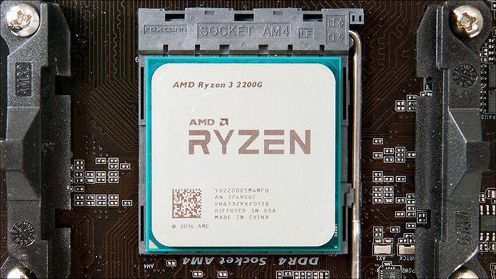 AMD Ryzen puesto
