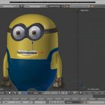 Blender 3D captura de pantalla