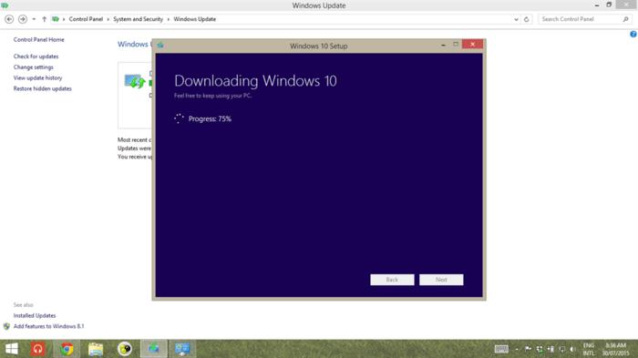 Descarga Windows 10