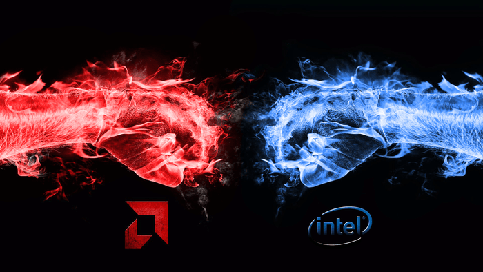 Puños AMD vs Intel