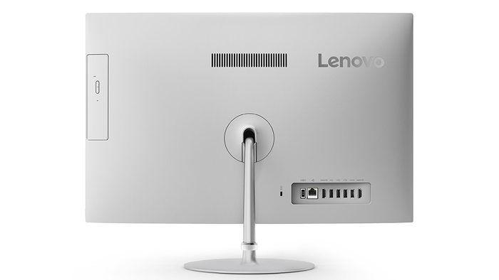Pantalla del Lenovo Ideacentre 520 por detrás