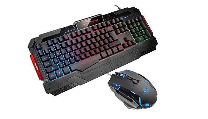 Ratón y teclado para gaming