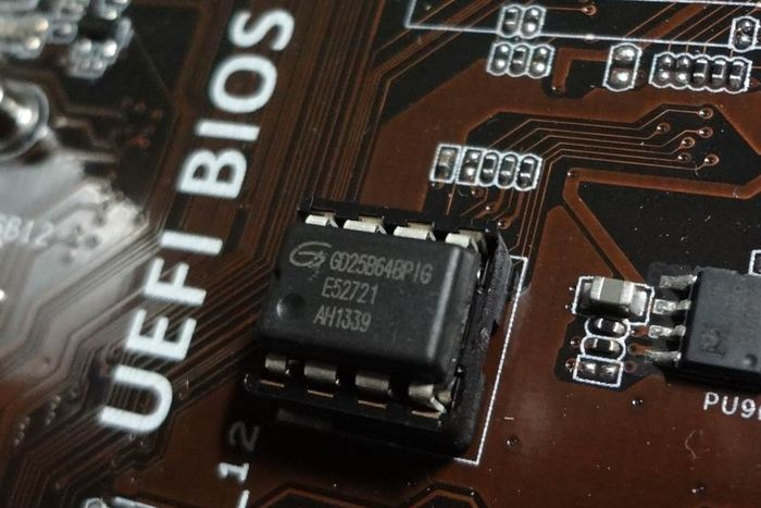 UEFI BIOS chip