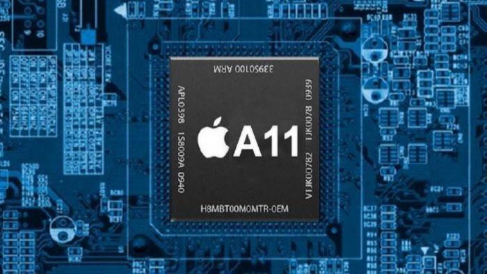 ARM-based de APple. Chip A11