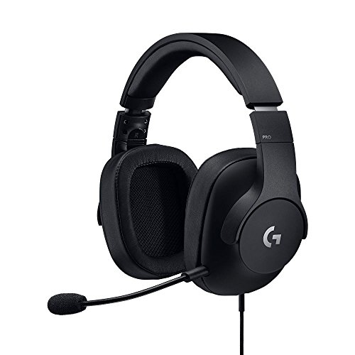 Logitech G Pro Auriculares Gaming, Ligeros con transductores Pro-G (para PC, PS4, Switch, Xbox One, VR)