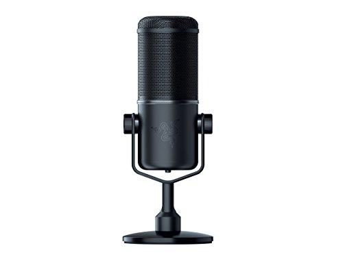 Razer Seirēn Elite - Micrófono dinámico para Streaming de Nivel Profesional