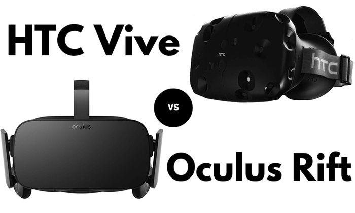 oculus rift y htc vive