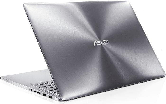 ASUS Zenbook de aluminio