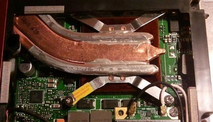refrigeración pasiva de portátil
