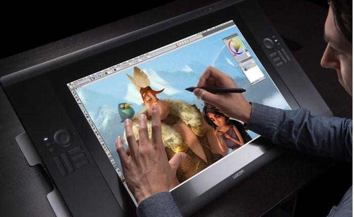 Tableta de dibujo digital