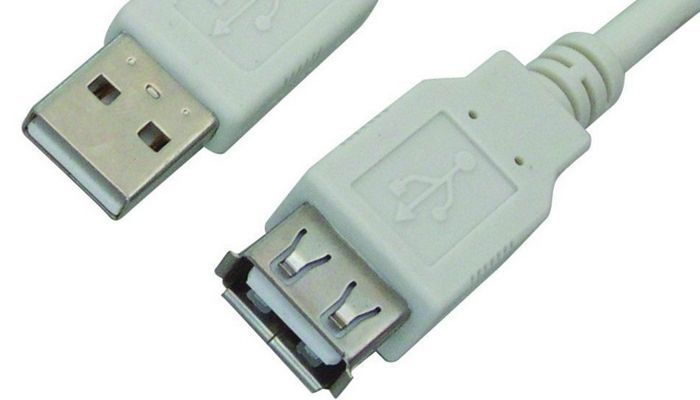 USB Macho y Hembra