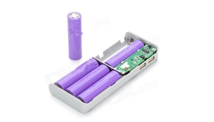 baterías de un power bank