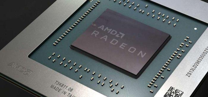 GPU chip AMD RX 5000