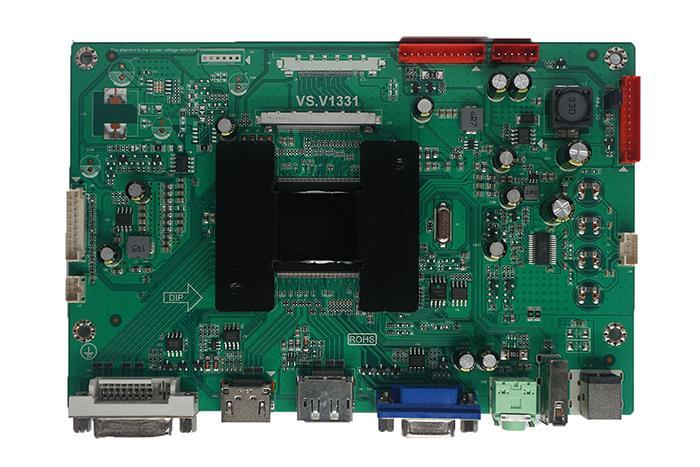 placa PCB de un monitor