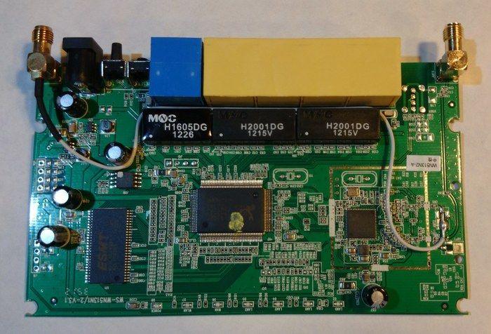 placa base de un router