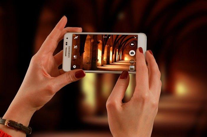 cámara de smartphone