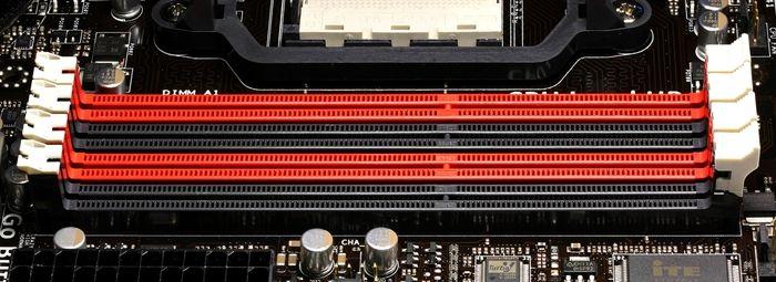placa base ranuras capacidad RAM soportada
