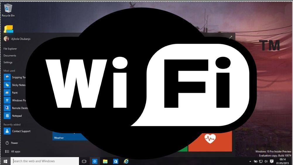 Windows 10 Wifi 5Ghz