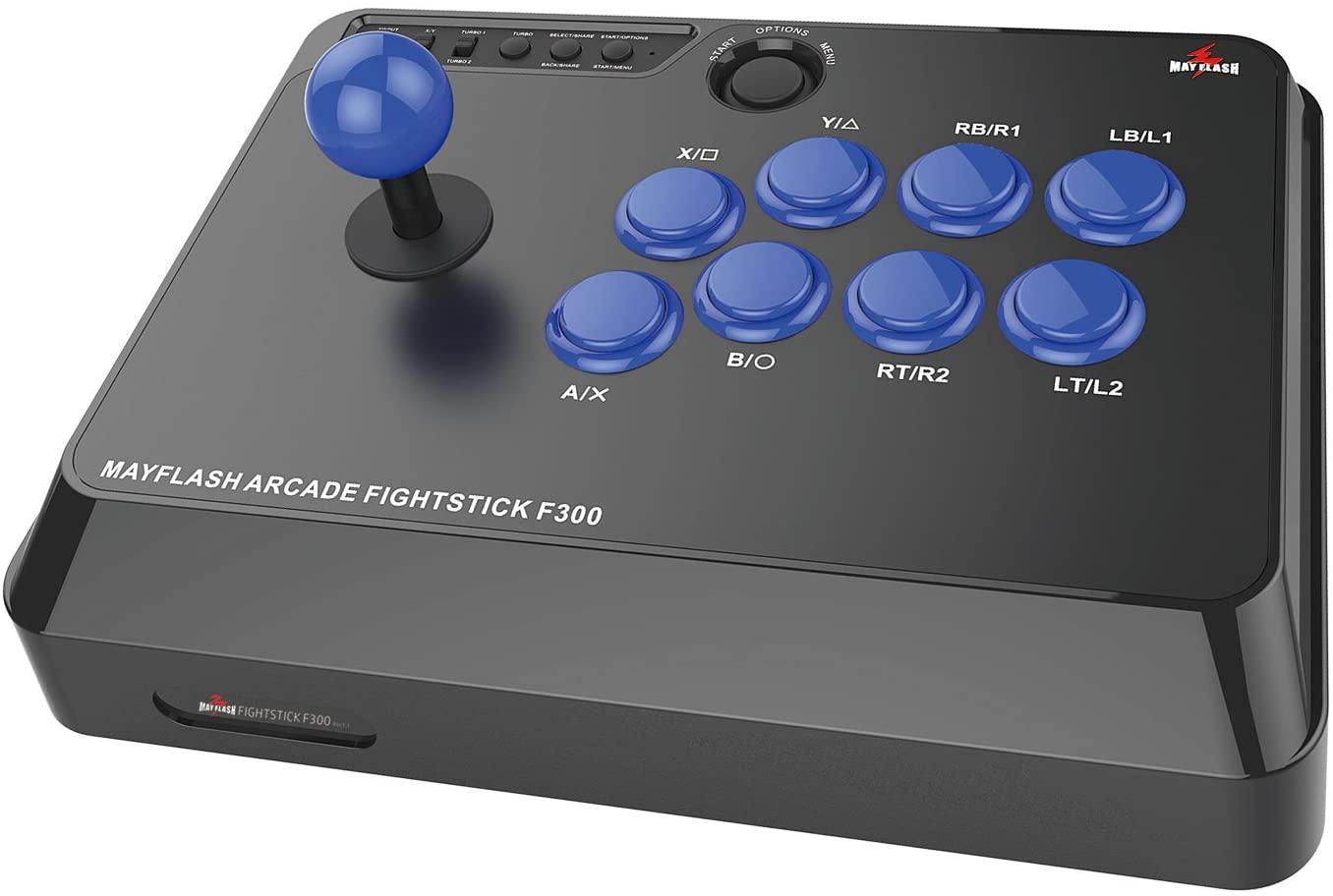 Mayflash Arcade Joystick Fightstick de F300 para PS4 PS3 XBOX UNA ...