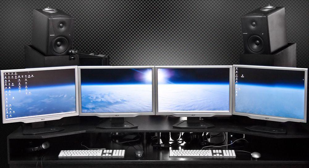 multimonitor, cómo conectar pantallas a PC