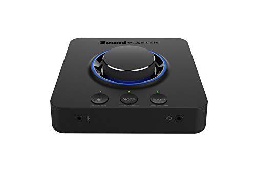 Creative Sound Blaster X3 Hi-Res 7.1 Tarjeta de Sonido Externa con Amplificador y Tarjeta de Sonido Super X-Fi para PC y Mac