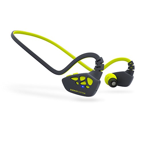 Energy Sistem Earphones Sport 3 Bluetooth (Auriculares inalambricos, Bluetooth, APTX, Secrure-Fit, IPX4,Control Talk) Yellow