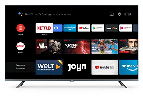 "Xiaomi Mi LED TV 4S 139,7 cm (55"") 4K Ultra HD Smart TV WiFi Negro LED TV 4S, 139,7 cm (55""), 3840 x 2160 Pixeles, LED, Smart TV, WiFi, Negro"