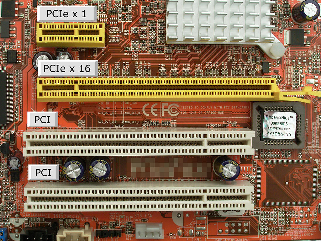 PCIe, comparativa