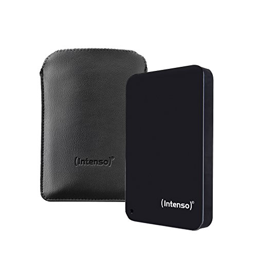 Intenso Memory Drive 6023560 - Unidad de Disco Duro Externa (1 TB, USB 3.0, portátil) Color Negro