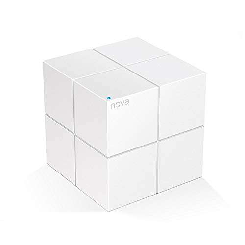 Tenda MW6 Nova - Sistema WiFi Mesh para Todo el Hogar (Paquete de 1, Cobertura de Doble Banda de hasta 500 m², MU-MIMO, Control Parental, Funciona con Alexa)