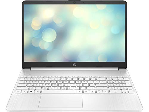 "HP 15s-eq1050ns - Ordenador portátil de 15.6"" FullHD (Ryzen 5-4500U, 12GB de RAM, 512GB SSD, AMD Radeon Integrated Graphics, Sin Sistema operativo ) Blanco - Teclado QWERTY Español"