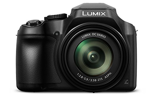 Panasonic Lumix DC-FZ82 - Cámara Bridge de 18.1 MP (Zoom de 60X, Objetivo F2.8-5.9 de 20-1200 mm, tecnología DFD, 4K, WIFI), Color Negro
