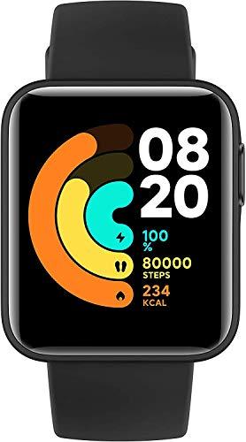 Xiaomi Mi Watch Lite - Reloj inteligente , GPS, control frecuencia cardíaca, 11 modelos de entrenamiento, color negro