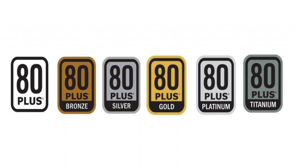 Certificaciones 80 Plus