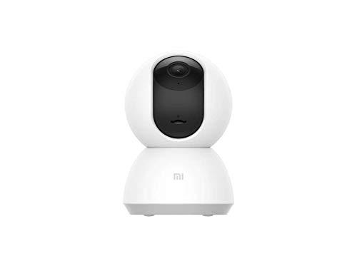 Xiaomi MI Home Security Camera 360° - Cámara de vigilancia, 1080p, blanco