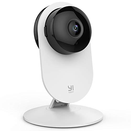 YI Cámara Vigilancia, Cámara IP Wifi 1080p Sistema de Seguridad de Full HD, Detección de Movimiento, Visión Nocturna, Audio de 2 Vias y Nube con App para iOs y Android (Blanco)