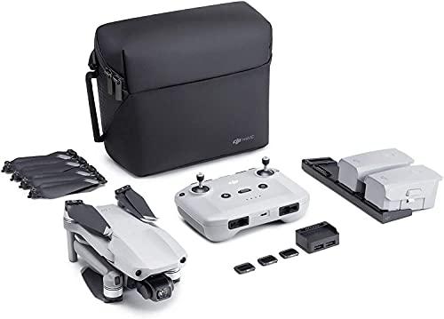 DJI Mavic Air 2 Combo Fly More y Care Bundle, Drone, Cámara 48 MP 4K, Estabilizador de 3 Ejes, 34 min de Vuelo, Sin Tarjeta, Con Care Refresh