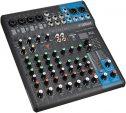 Yamaha MG10XU - Mezclador compacto de 10 canales, preamplificadores de micro D-PRE, efectos SPX y funciones Audio USB